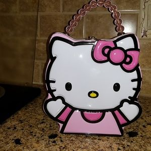 Hello Kitty carry all tin.